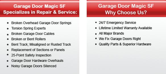 Garage Door Repair Pleasanton Offers